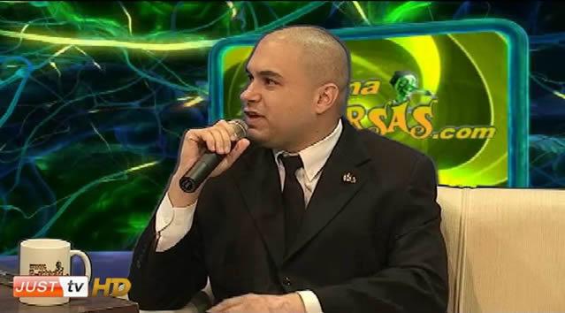 Marcelo Deldebbio falando sobre maçonaria no E-farsas