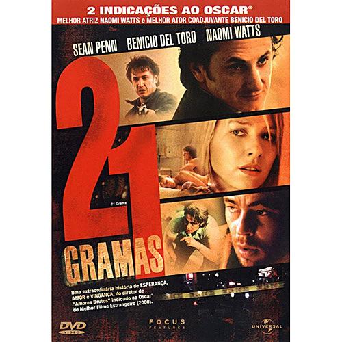 """Capa do filme '21 Gramas"""" de 2003! (foto: Divulgação)"""