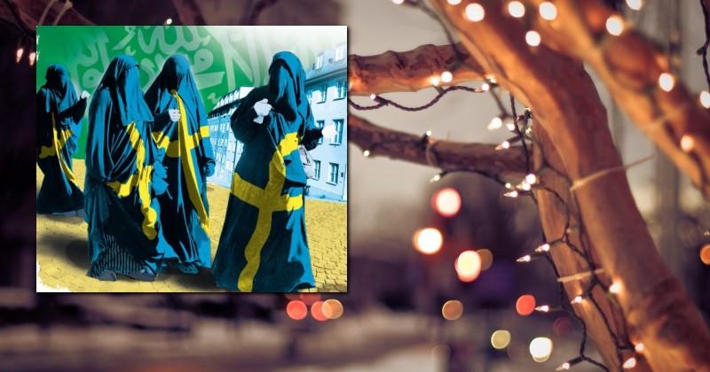 Governo da Suécia proibiu luzes de Natal para não ofender os muçulmanos! Será verdade? (foto: Reprodução/Facebook)