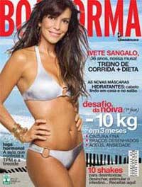 Capa da edição de fevereiro de 2011 da revista Boa Forma! (foto: Divulgação)