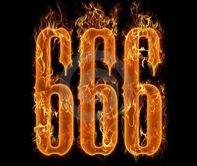 666 é considerado o numero besta na bíbila