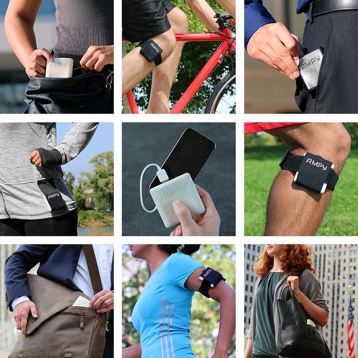 O Ampy promete transformar suas caminhadas em energia para o celular! (foto: Divulgação)