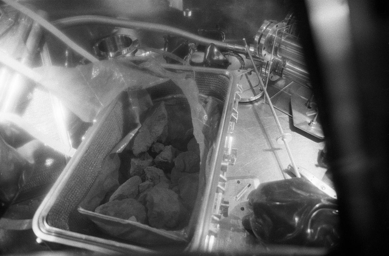Rochas trazidas pela tripulação da Apollo 11!