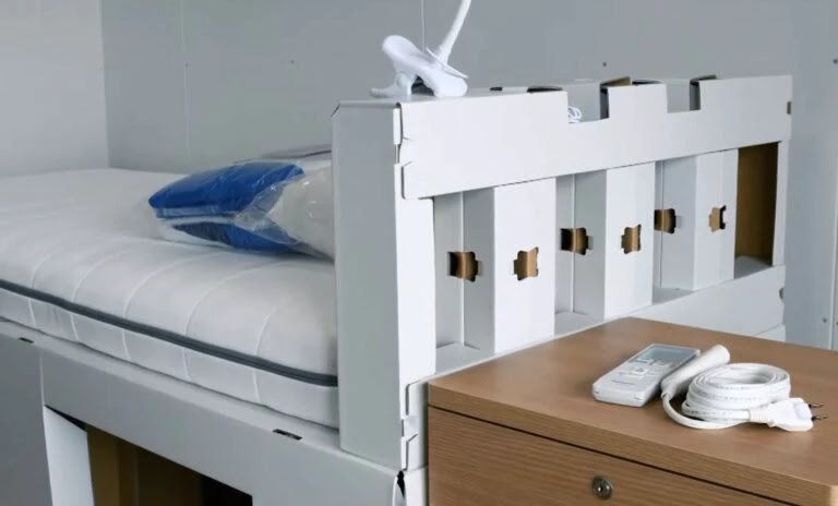 As camas das Olimpíadas são de papelão para evitar o sexo entre os atletas?
