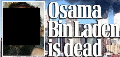 Imagem falsa da morte do Osama Bin Laden
