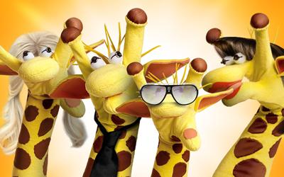 A rede de lanchonetes aproveitou o sucesso da girafa para espalhar imagens do seu mascote no Facebook (foto: Divulgação)
