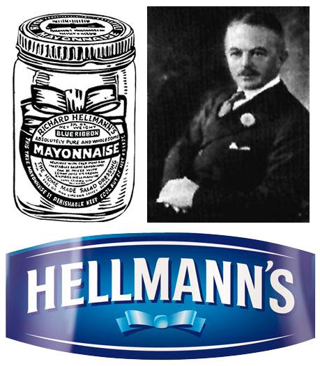 Richard Hellmann, fundador da Hellmann's (foto: reprodução/http://almanaque.blog.br/2008/10/nascida-com-o-laco-azul-do-sucesso/)