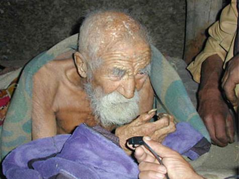 Indiano tem 179 anos e entrou para o Guinness como o homem mais velho do mundo! Verdadeiro ou falso? (foto: Reprodução/Facebook)