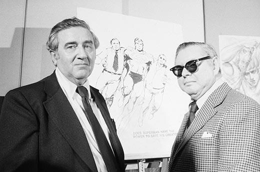 Joe Shuster e Jerry Siegel ! (foto: Reprodução/Internet)