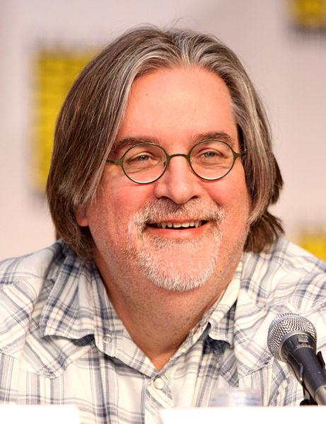 Matt Groening, o criador do desenho animado Os Simpsons (foto: Reprodução/Wikipédia)