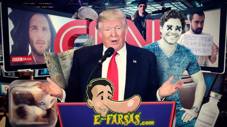 Ouça a participação do @Efarsas no #Nerdcast falando sobre Fake News!