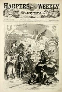 Santa Claus - 1863 - Harper's Weekly