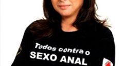 Atriz teria iniciado uma campanha contra o sexo anal! Será verdade? (foto: Reprodução/Facebook)