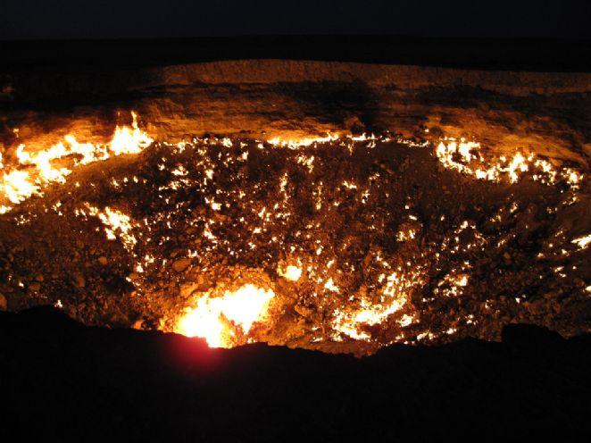 """Cratera """"sem fundo"""" tem fundo, na verdade! (foto: Reprodução/Stefan Krasowski)"""