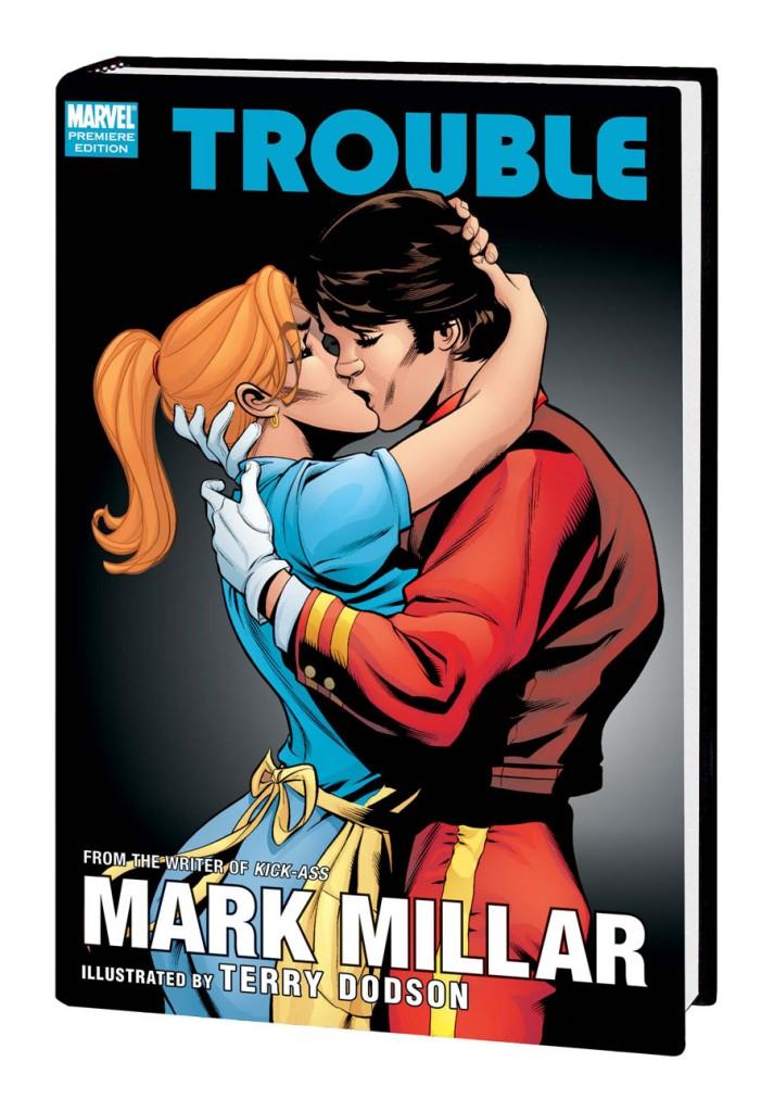Série de quadrinhos Trouble, lançada em 2003, contava a história da jovem May! (foto: Divulgação)