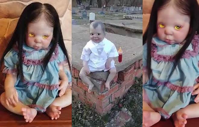Bonecas possuídas te seguem com os olhos! Qual é a explicação?