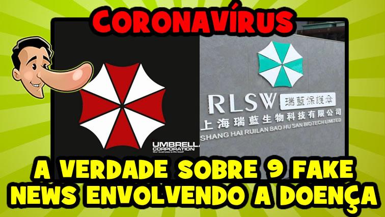 Desmentimos 9 fake news envolvendo o coronavírus!