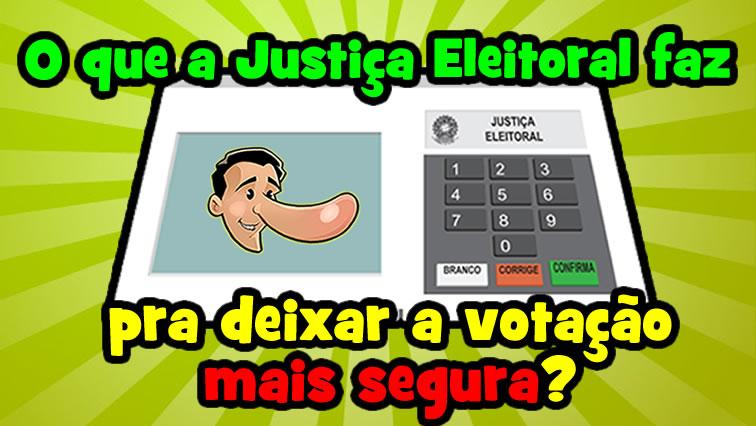 Vídeo: O que a Justiça Eleitoral tem feito pra deixar as urnas mais confiáveis?