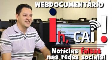 Gilmar Lopes participa de webdocumentário sobre notícias falsas na web!