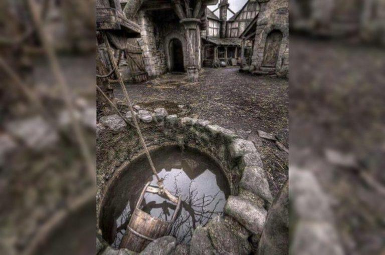 Foto mostra uma antiga aldeia medieval preservada na Escócia?