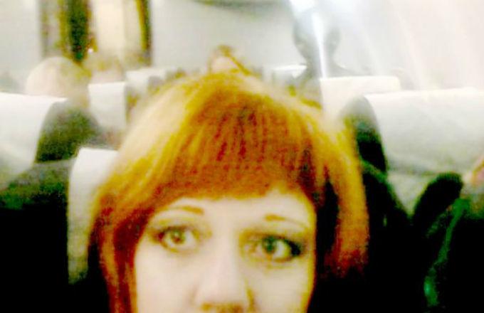 Russa tira foto de alienígena sem saber! Será verdade? (foto: Reprodução/Facebook)