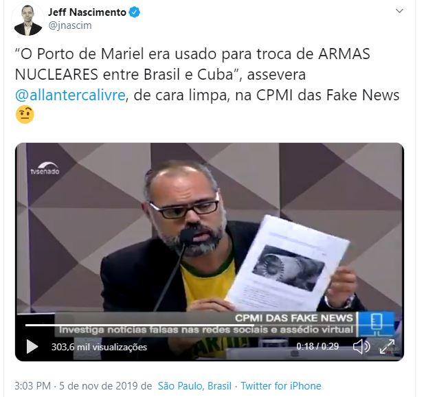 Reportagem da Veja mostrou que Brasil e Cuba trocaram armas nucleares?