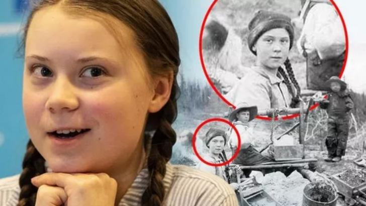 Greta Thumberg é uma viajante do tempo?