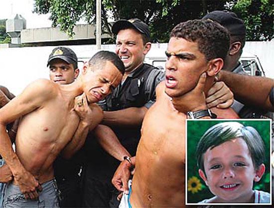 O assassino de João Hélio foi solto e foi levado por uma ONG pra Suíça?