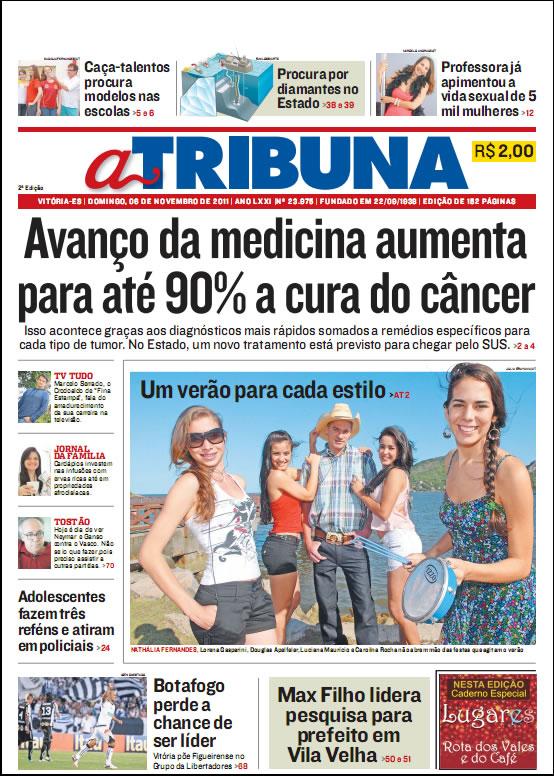 Jornal A Tribuna do Espírito Santo - 06-11-2011