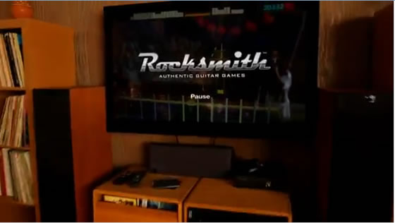 Baby Guitar - Viral do jogo Rocksmith