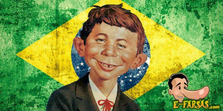 Estudo comprovou que o brasileiro é o terceiro povo mais idiota do mundo?