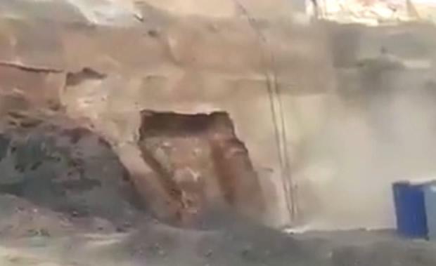 Seria esse o momento do rompimento da barragem em Mariana?