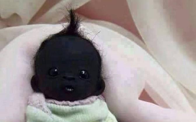 Nasce o bebê mais negro do mundo na África do Sul! Será?