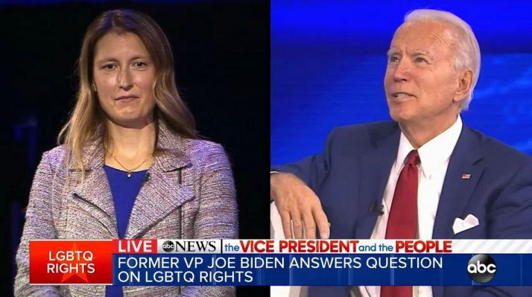 Joe Biden disse que apoiava a transição de gênero em crianças a partir de 8 anos?