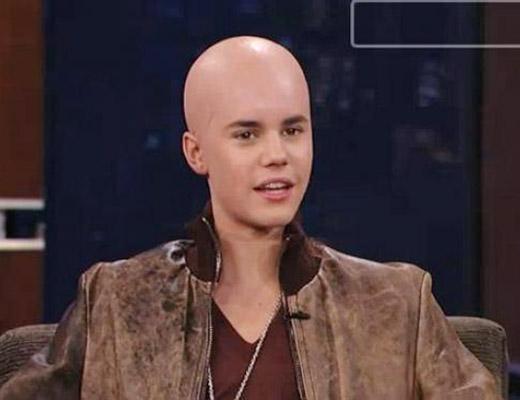 Justin Bieber com câncer e careca! Será verdade?