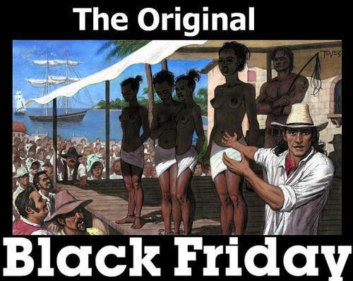 Texto compartilhado nas redes sociais alerta para a origem escravagista do termo Black Friday! Será verdade? (foto: Reprodução/WhatsApp)
