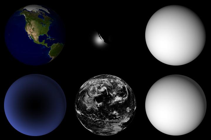 Detalhes do projeto da Blue Marble - Robert Simmon - NASA