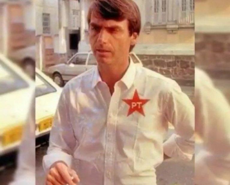 Foto de Jair Bolsonaro usando uma camisa do PT é verdadeira ou falsa?