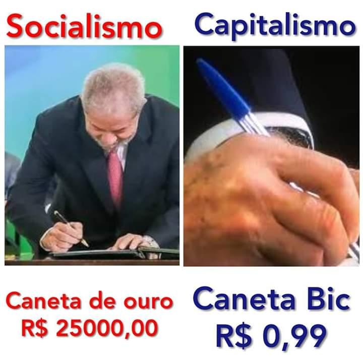 Bolsonaro assinou a posse com caneta de R$ 1,00 e Lula usou uma de R$25 mil?