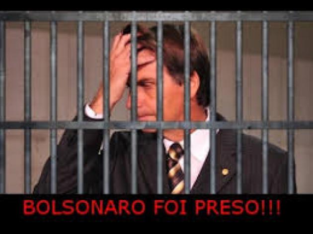 O Jornal Nacional noticiou a prisão de Jair Bolsonaro por racismo?