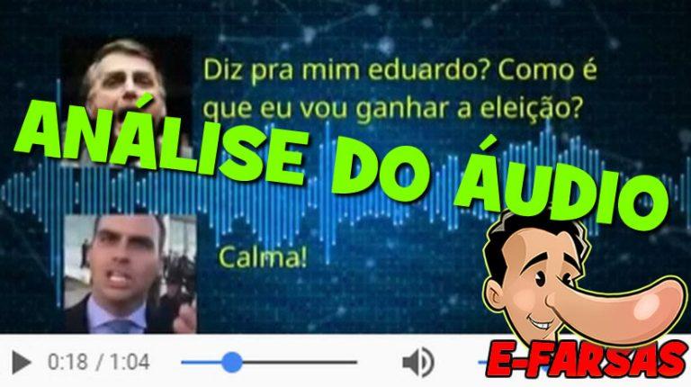 Áudio de Jair Bolsonaro xingando enfermeira é verdadeiro ou falso?