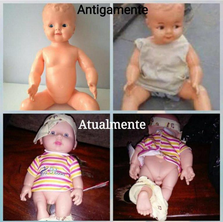 O Governo de Goiás está distribuindo bonecas com órgãos sexuais trocados?