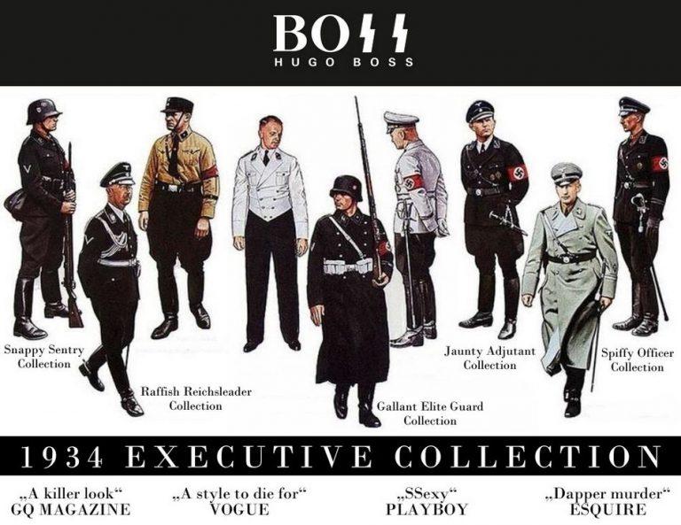 Será verdade que Hugo Boss desenhou e fabricou uniformes nazistas?