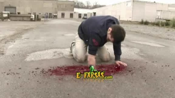 Braço raspando no asfalto! Verdadeiro ou farsa?