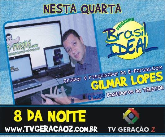Programa Brasil Ideal ao vivo na TV Geração Z! (Foto: Divulgação/Brasil Ideal)