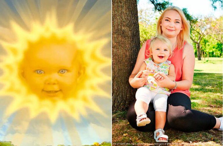 "Atriz que interpretou a ""bebê-sol"" em Teletubbies se tornou mãe?"