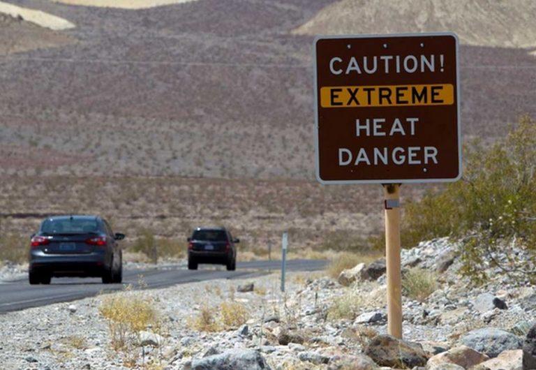 O Vale da Morte na Califórnia registrou recentemente a temperatura mais alta da Terra?