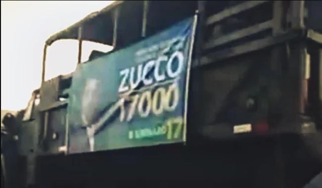 Vídeo flagra veículos do Exército fazendo propaganda para o Bolsonaro! Será verdade?