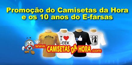 camisetas da hora - promocao10anos