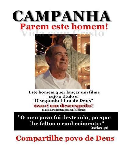 Protesto contra o novo filme de Renato Aragão